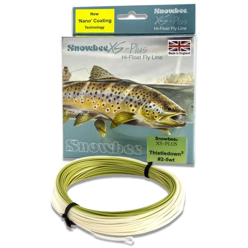 XS Plus Nano Tec Thistledown Floating Fly Line Olive & Buckskin WFTD image 1