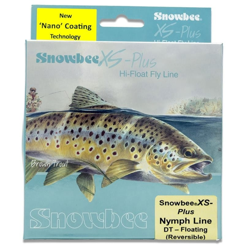 XS-Plus Nymph Floating Fly Line Uni-Weight Orange/Tan DT2/5NL