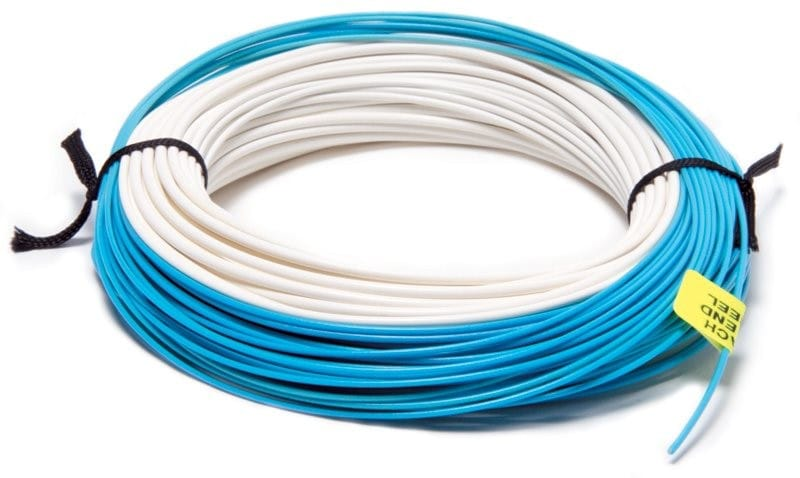 XS Plus Twin Colour Floating Fly Line Blue & Ivory WFFTC image 3