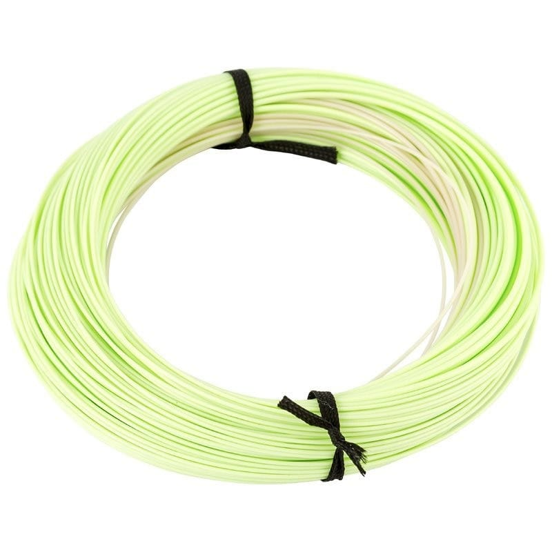 XS-Plus Countdown 4ips Sink-Tip Fly Line Clear/Lime WFCDF4-7ST image 1