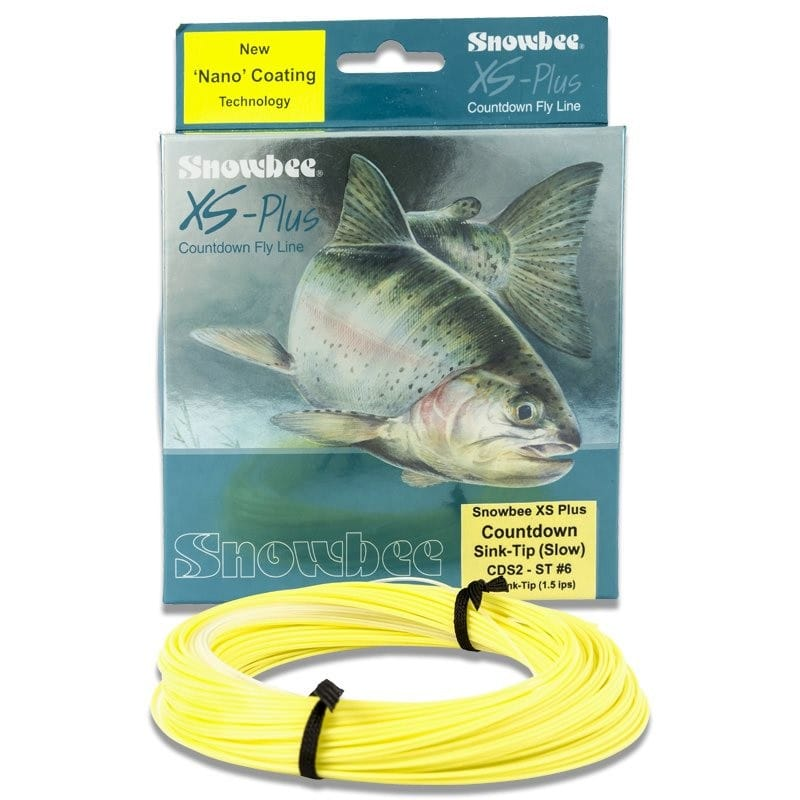 XS-Plus Countdown 1.5ips Sink-Tip Fly Line Clear/Primrose WFCDS2-7ST