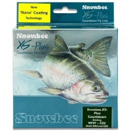 XS Plus Nano Countdown Olive 2ips Sinking Fly Line Olive & Sky Blue WFCD2