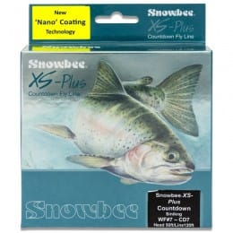 XS-Plus Nano Countdown Deep Blue (7ips) Sinking Fly Line Charcoal/Deep Blue WFCD7