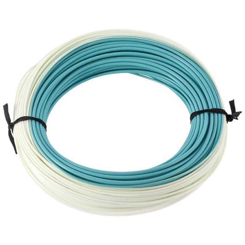 XS Plus Tropics Saltwater Floating Presentation Fly Line Light Blue & Aqua TSWPF image 2