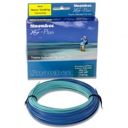 XS Plus Tropics Saltwater Floating Big Fly Fly Line Aqua & Dark Blue TSWBFF