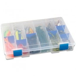 Tuff Tainer 4004 tackle box - 6 partitions & 10 Zerust dividers