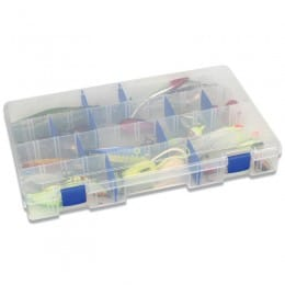 Tuff Tainer 5007 tackle box - 4 partitions & 15 Zerust dividers