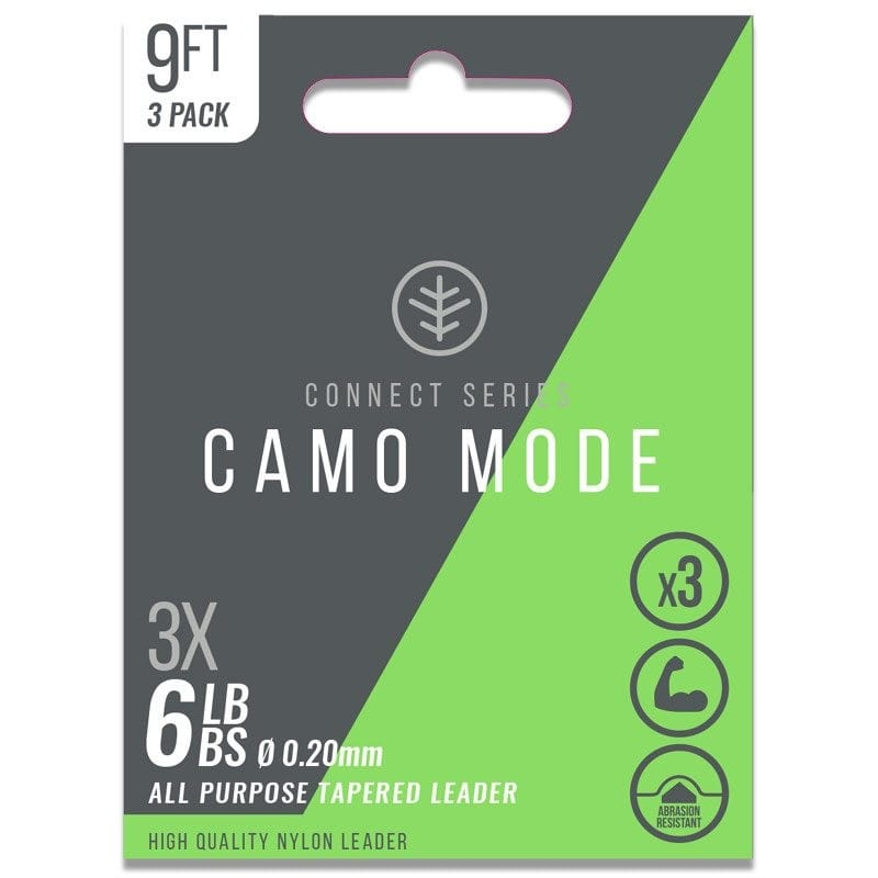Camo Mode Tapered Leaders