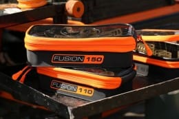 Fusion 110 water-resistant luggage for feeders, pole pots & tackle