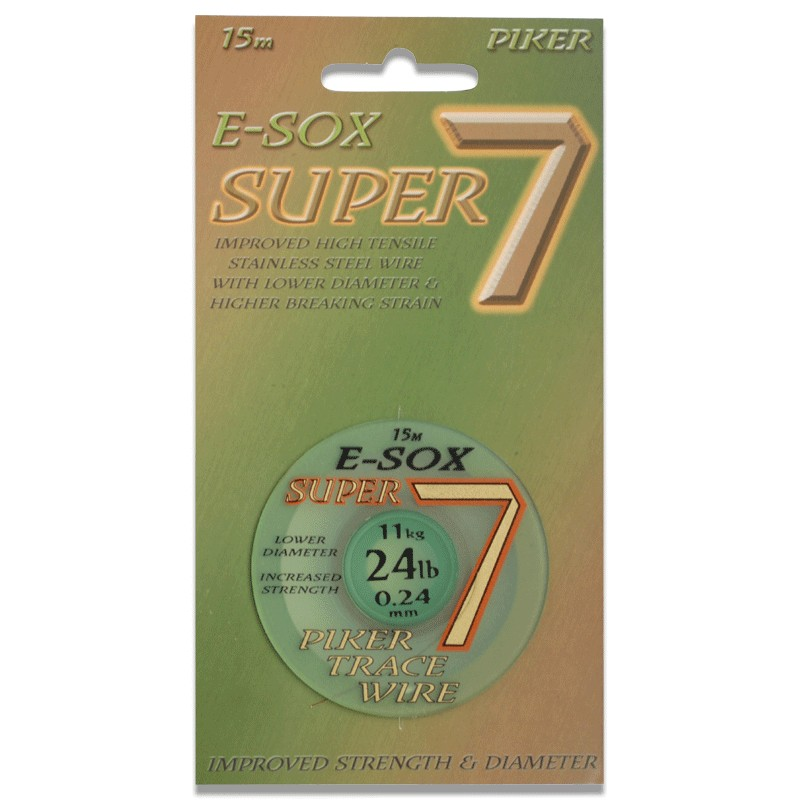 Esox Super 7 Pike Wire 15m image 0