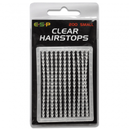 Clear Hairstops Pack of 200