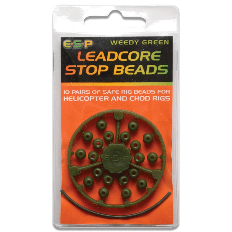 Leadcore Stop Beads Pack of 10 image 1