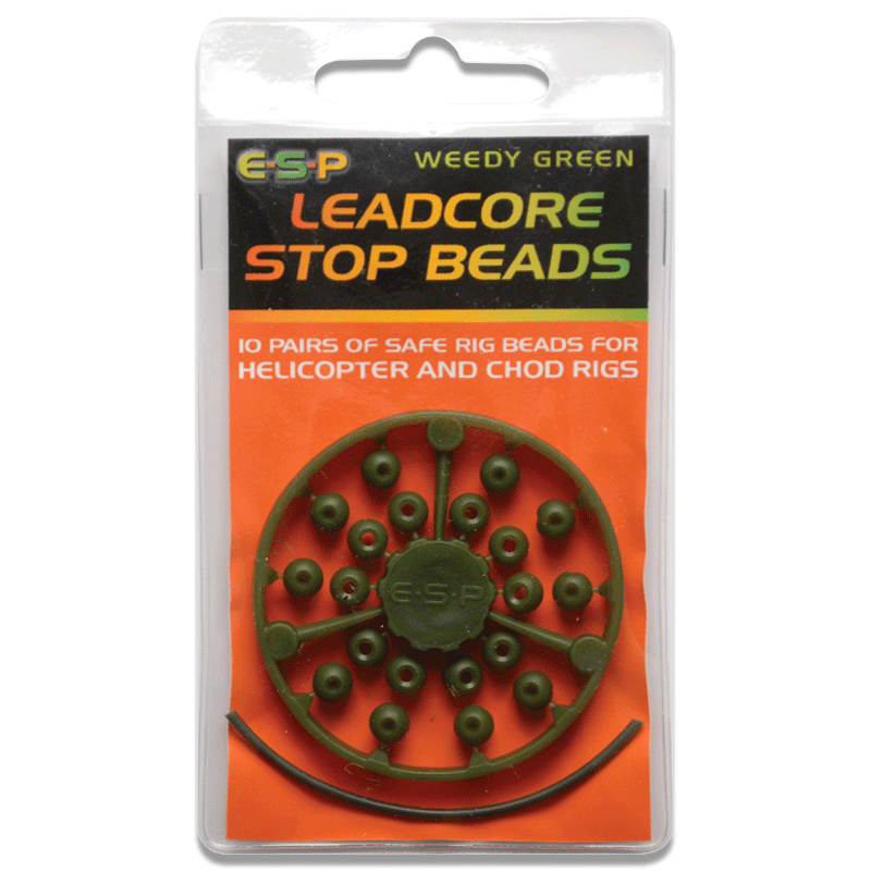 Leadcore Stop Beads Pack of 10