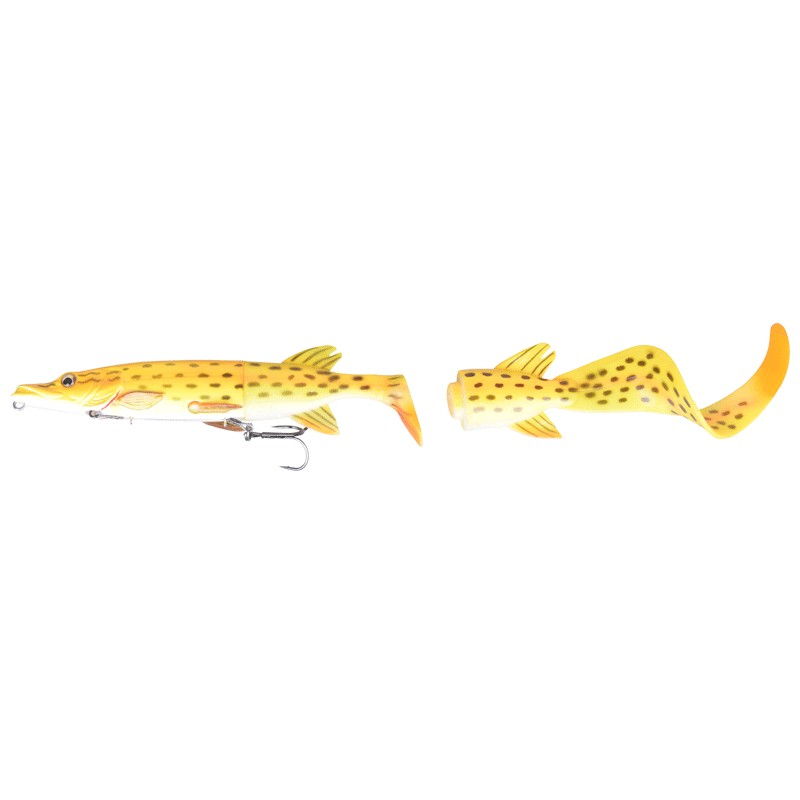 3D Hybrid Pike Slow Sink 25cm image 1