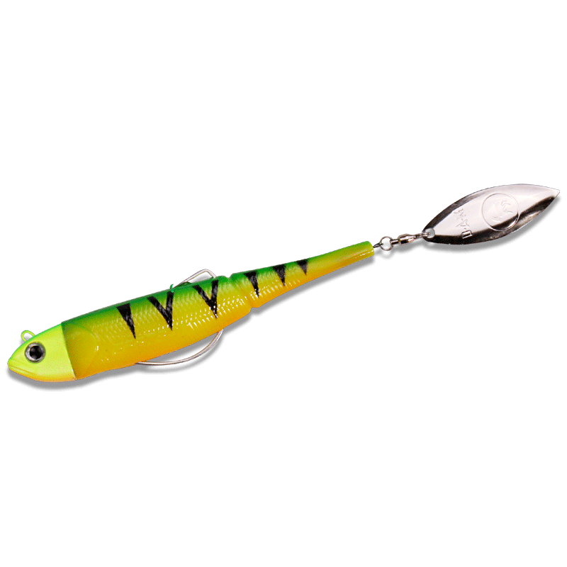 EFFZETT Kick-S Minnow Weedless 11cm