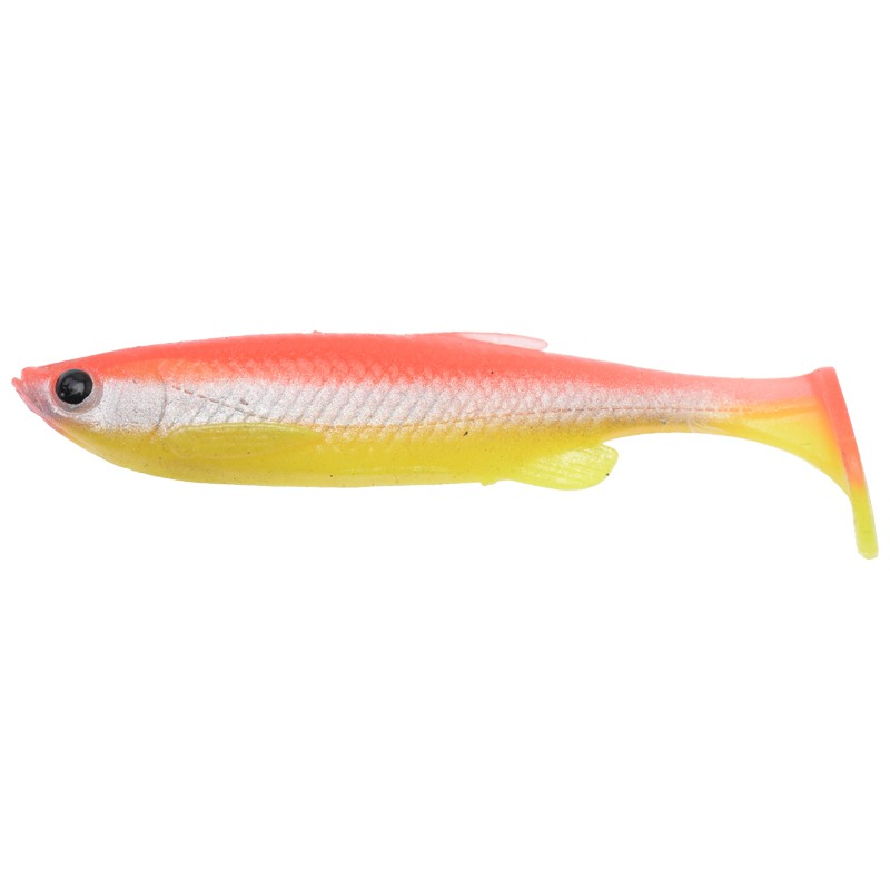 3D Fat Minnow T-Tail Loose Body 9cm image 5