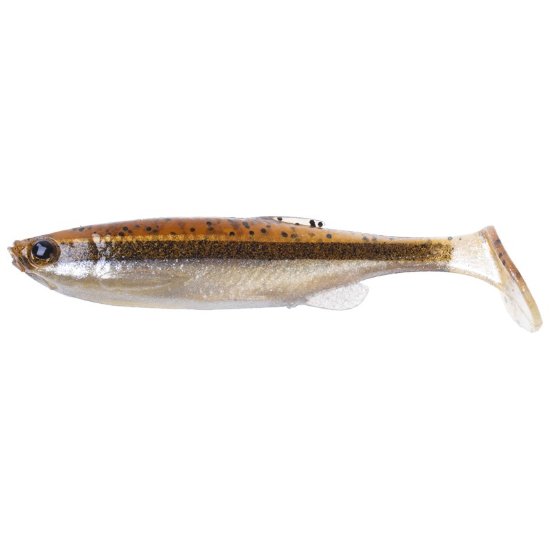 3D Fat Minnow T-Tail Loose Body 9cm image 3