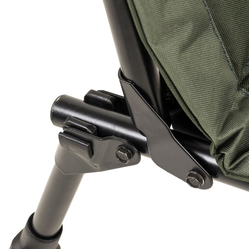 Defender Chair with adjustable legs that lock into place image 4