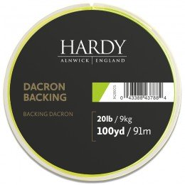Dacron Lime Green Backing