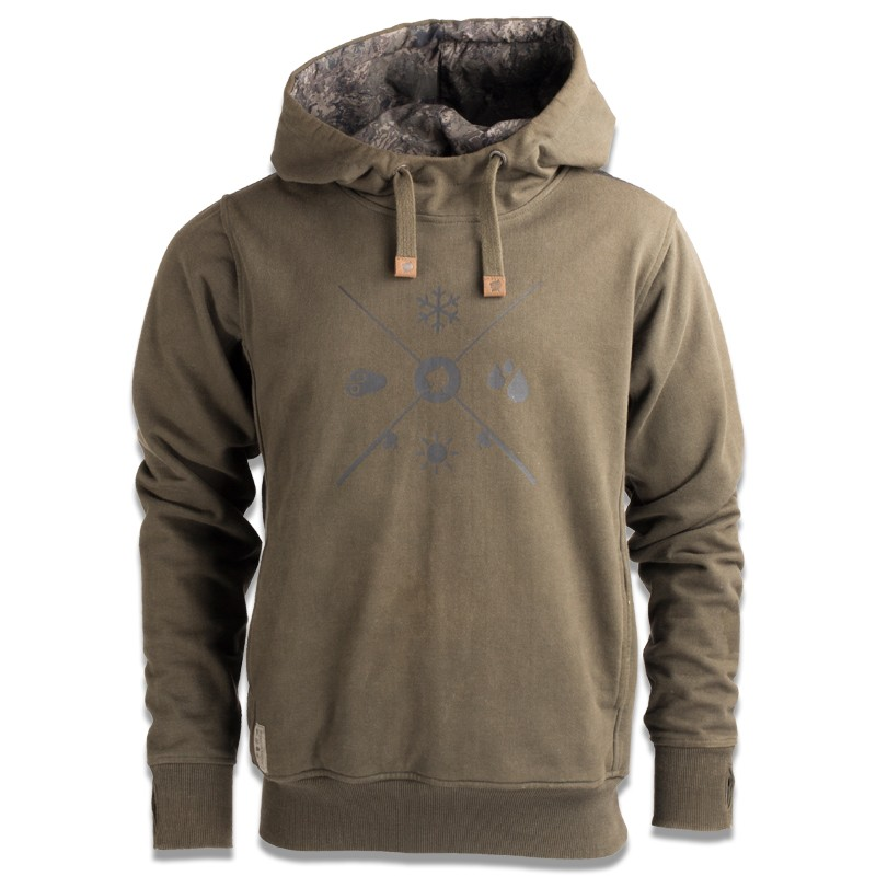 Nash Tackle ZT Subterranean Camo Hoody Carp Fishing *NEW FOR 2018*