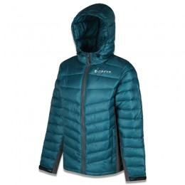 Micro Quilt Jacket Petrol