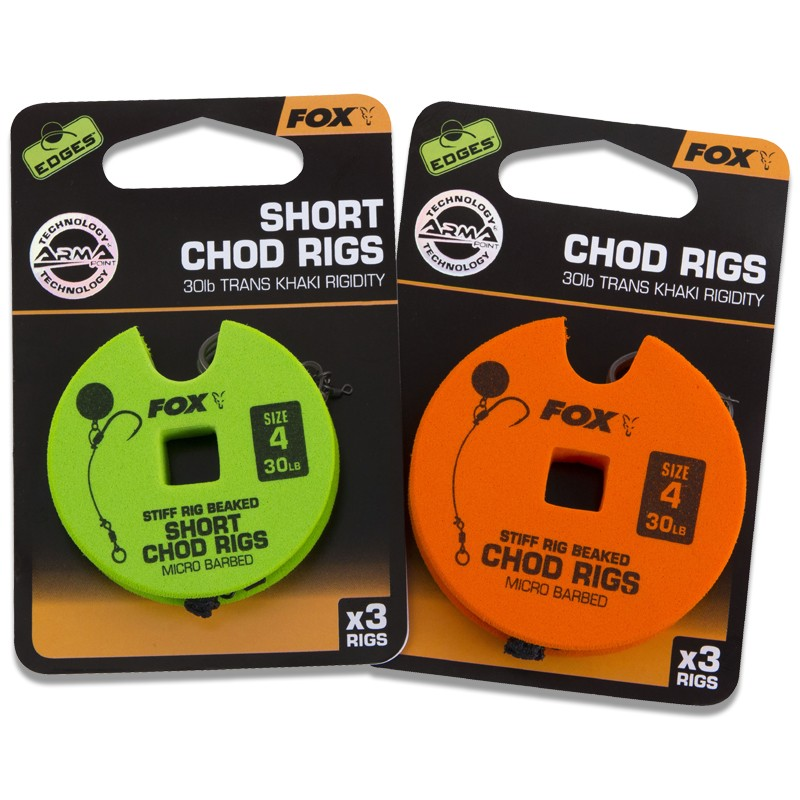 Edges Chod Rigs Pack of 3