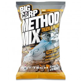 Big Carp Method Mix Tiger & Peanut 2kg