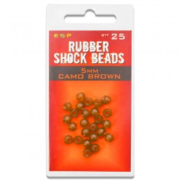 Rubber Shock Beads Pack of 25