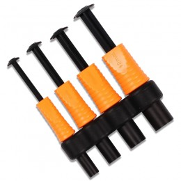 Punch Set in 4 sizes for baits such as bread, meat and paste