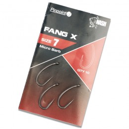 Pinpoint Fang X Barbed Carp Hooks