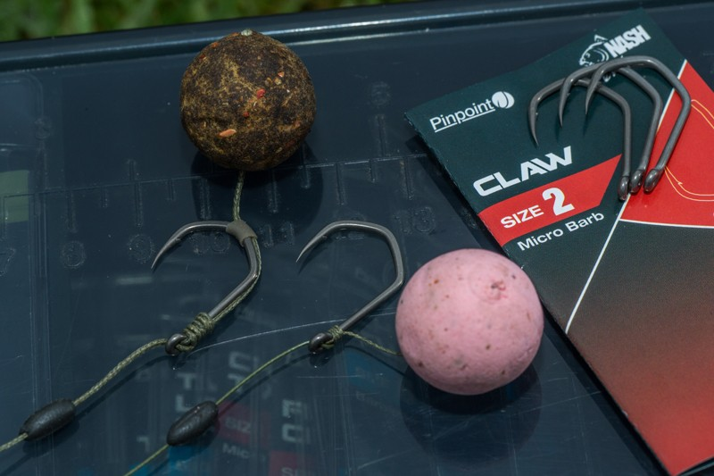 Pinpoint Claw Barbless Carp Hooks Pack of 10 image 2