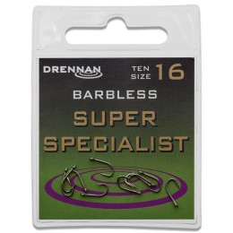 Eyed Specimen Super Specialist Barbless Hooks Pack of 10