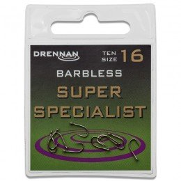 Eyed Specimen Super Specialist Barbless Hooks