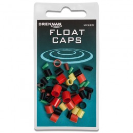 Mixed Float Caps for attaching and quickly changing stick floats
