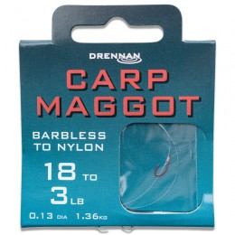 Barbless Carp Maggot Hooks To Nylon