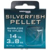 Barbless Silverfish Pellet Hooks To Nylon