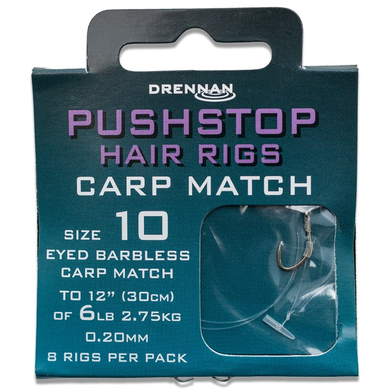 Barbless Pushstop Hair Rigs Carp Match image 1