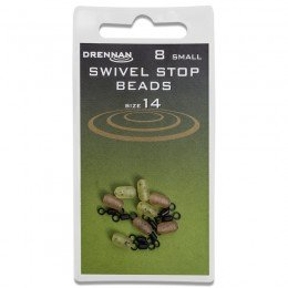 Swivel Stop Beads Pack of 8