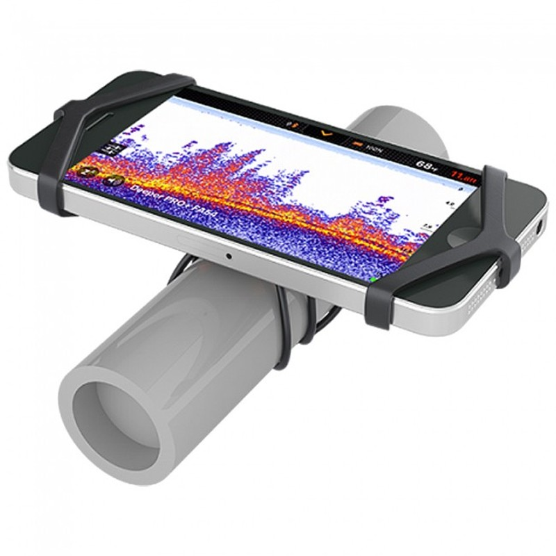 Smartphone Mount to fit any rod type securely image 1