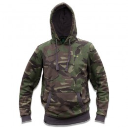 Camo Hoody with double layered hood