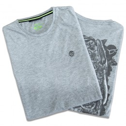 Scaley Heather Grey T-Shirts