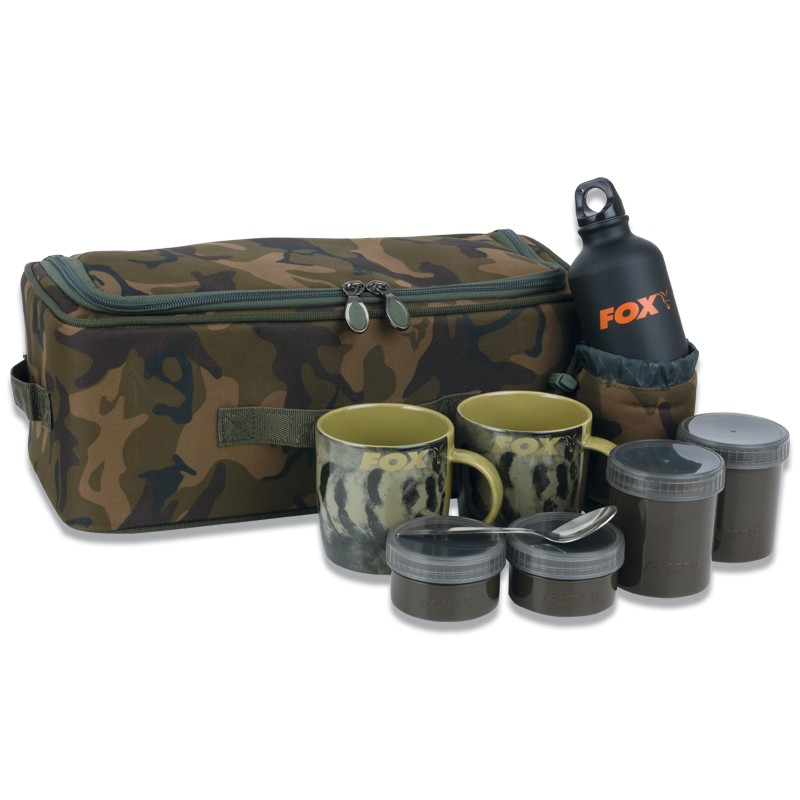 Camolite Brew Kit Bag including Aluminium Bottle & Thermally Insulated Bag