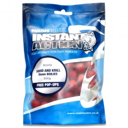 Instant Action Squid & Krill Boilies