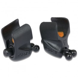 Black Label Adjustable Rod Clips