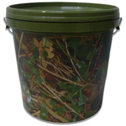 Camo Bucket With Lid
