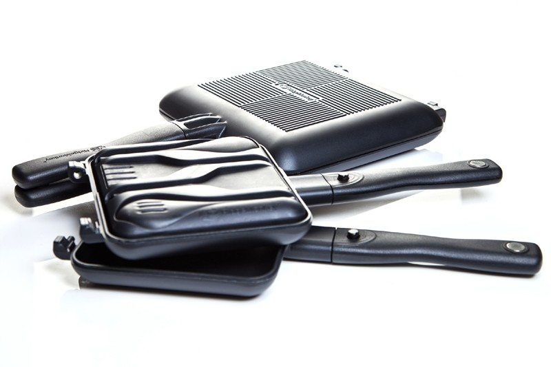 Connect Compact Sandwich Toaster XL with Utensil Set image 4