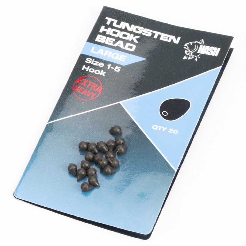 Tungsten Hook Beads Pack of 20 image 2