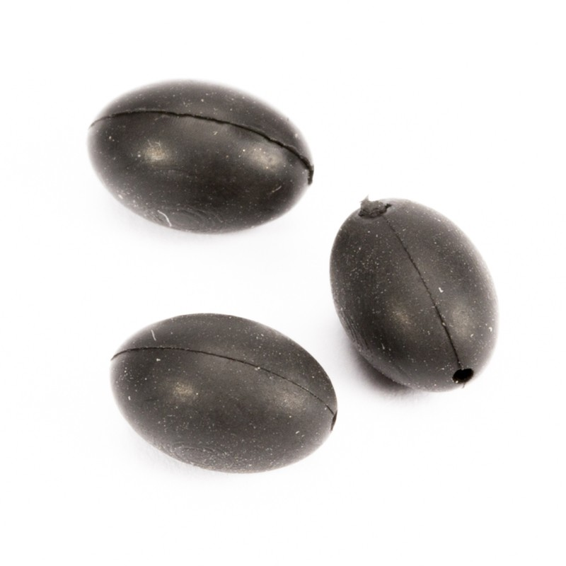 Tungsten Oval Leadcore Bead Pack of 10 image 2