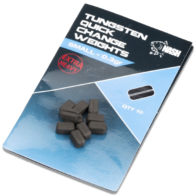 Tungsten Quick Change Weights Pack of 10