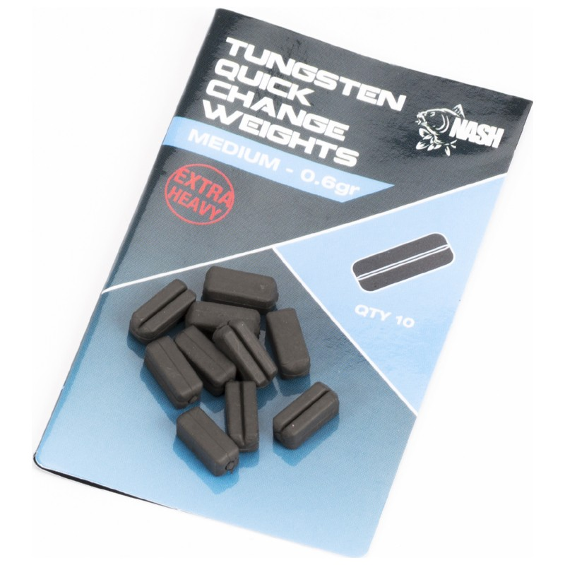 Tungsten Quick Change Weights Pack of 10 image 2